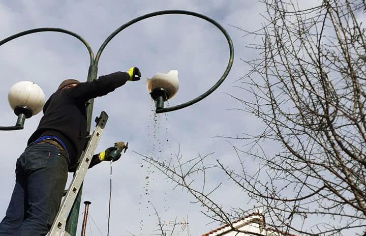 δημοτικού φωτισμού Νέο Κλήμα (2)