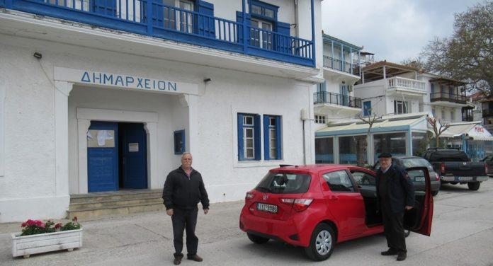 αυτοκινήτου στο Δήμο Σκοπέλου