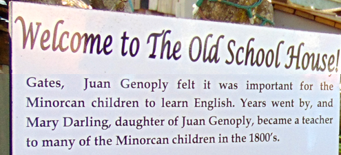 Old School Sign
