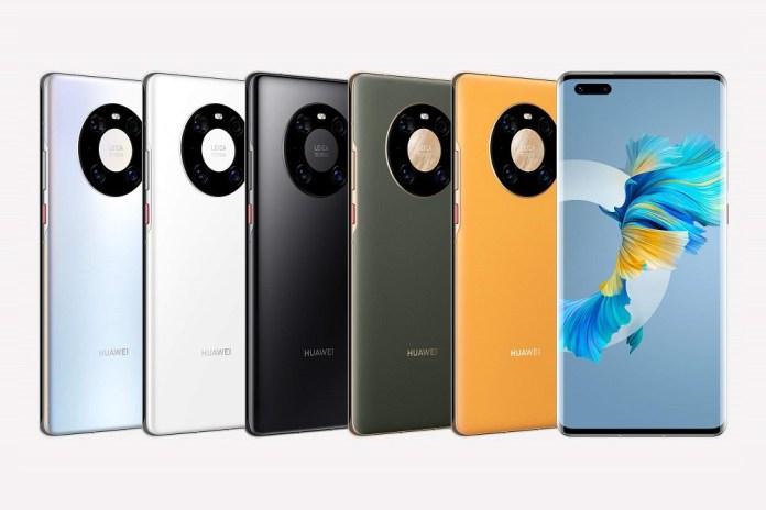 Huawei Mate 40 Series: Renders όλων των μοντέλων σε όλα τα χρώματα