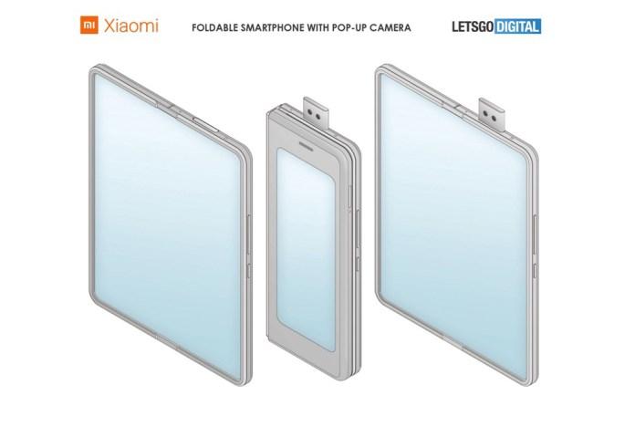 Πατέντα της Xiaomi για Foldable αλά Galaxy Fold με Pop Up Selfie