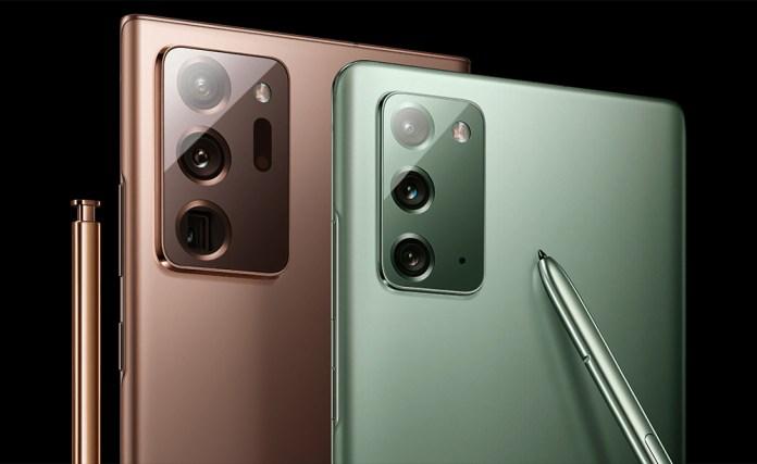 Galaxy Note 20 Series: Η Samsung μειώνει την παραγωγή τους