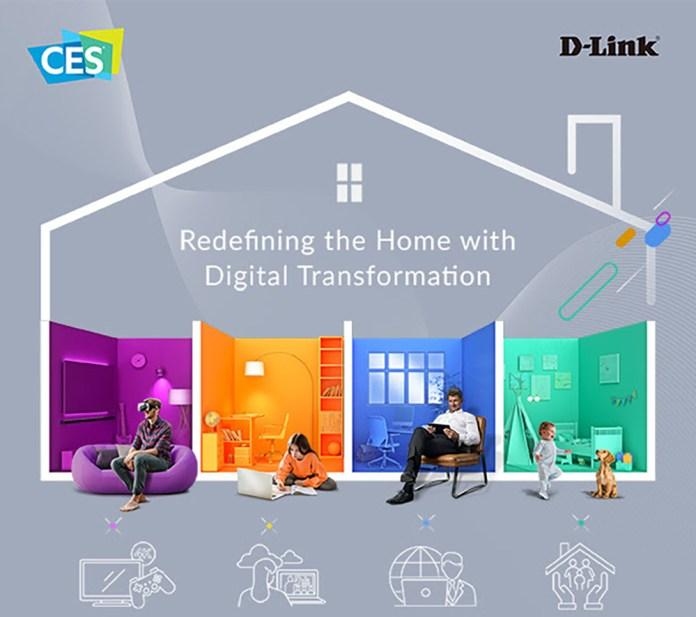 Η D Link επανακαθορίζει το Smart Home και την απομακρυσμένη εργασία στην CES 2021