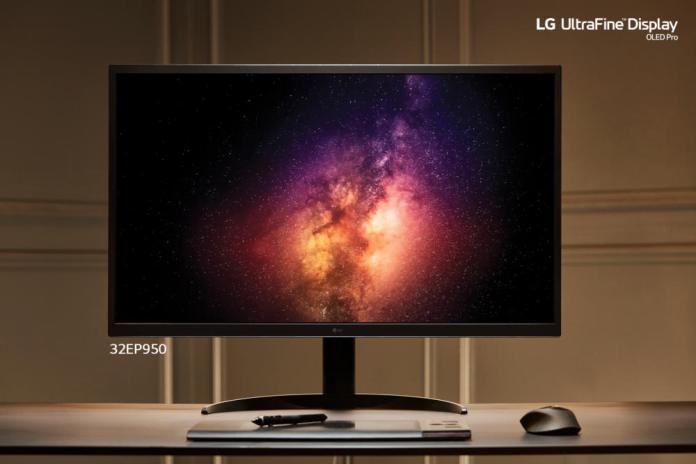 LG UltraFine 32EP950: Pro Monitor τεχνολογίας OLED [CES 2021]