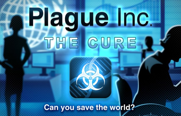 Plague Inc. The Cure Mode for iOS and Android