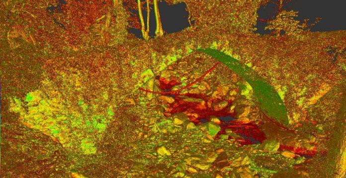 Καταγραφή τρισδιάστατων μοντέλων με Laser Scanner και Drone για το γεφύρι της Τσαγκαράδας