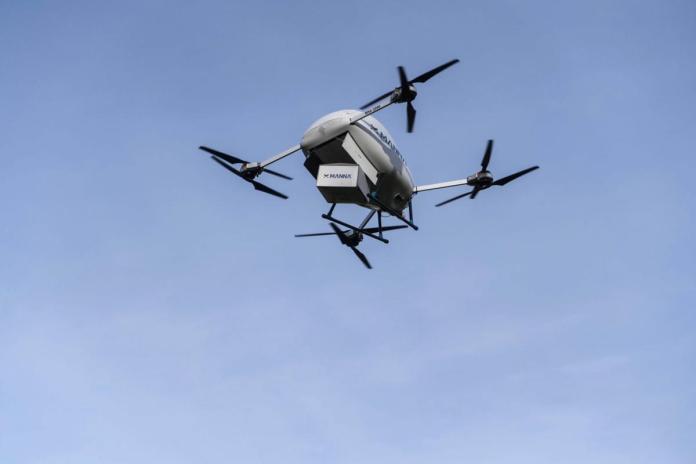 H Samsung στέλνει με Drones τα προϊόντα της στην Ιρλανδία