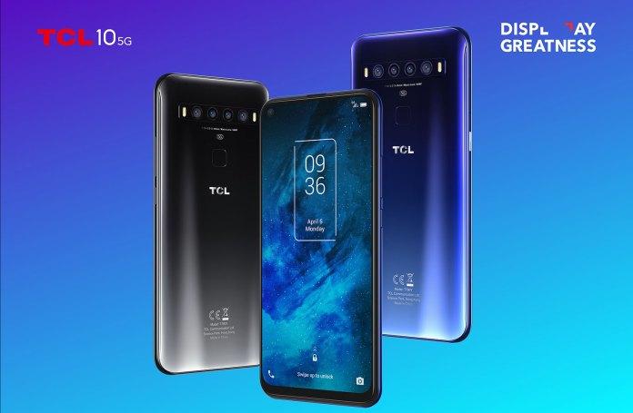TCL 10 5G: Κυκλοφόρησε στη WIND με τιμή από 279 ευρώ