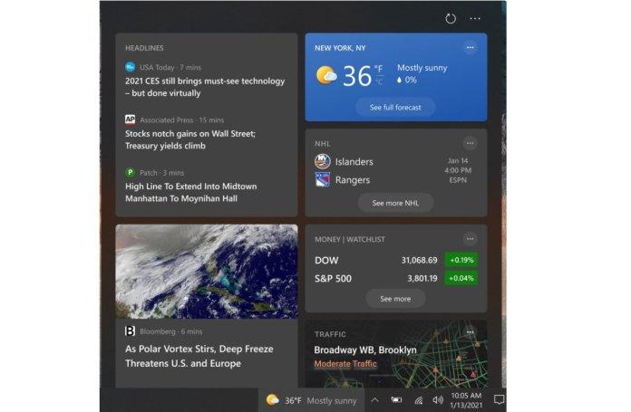 Windows 10: To News And Interests θα διατεθεί και σε παλαιότερες εκδόσεις