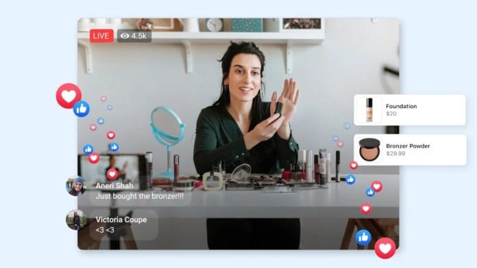 Facebook: Ψώνια μέσω Video διαθέσιμα στο IOS