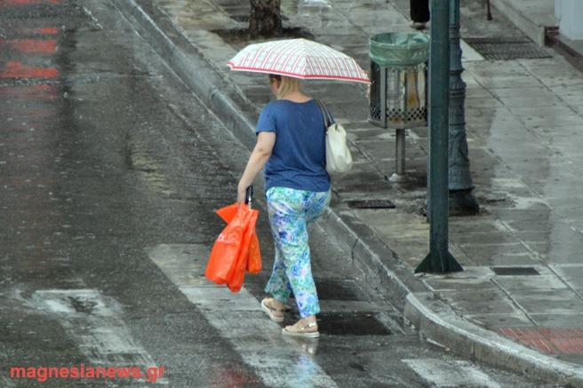 Ατμοσφαιρική διαταραχή φέρνει βροχές και σποραδικές καταιγίδες