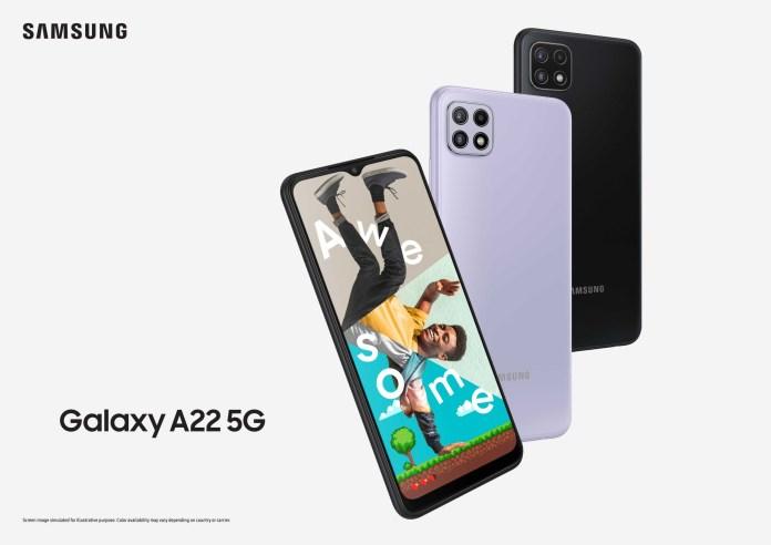 Samsung Galaxy A22 5G: Κυκλοφορεί Ελλάδα και Κύπρο