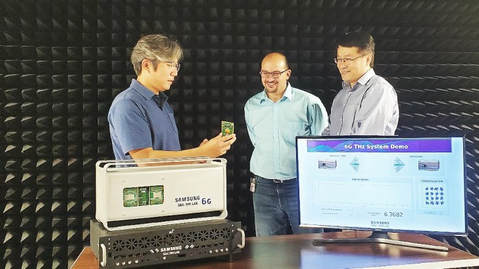 To 6G πρωτότυπο της Samsung δείχνει συχνότητες TeraHertz
