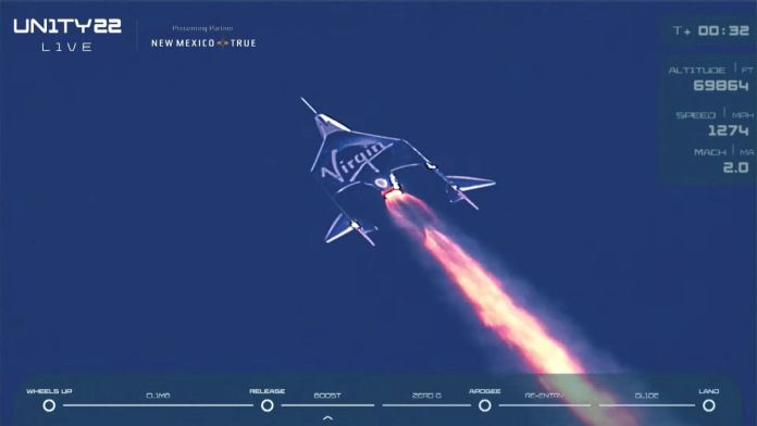 Virgin Galactic: Κλήρωση για ταξίδι τύπου… Μπράνσον στο διάστημα