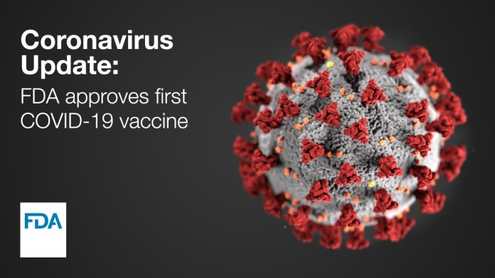 FDA Approves First COVID 19 Vaccine FINAL