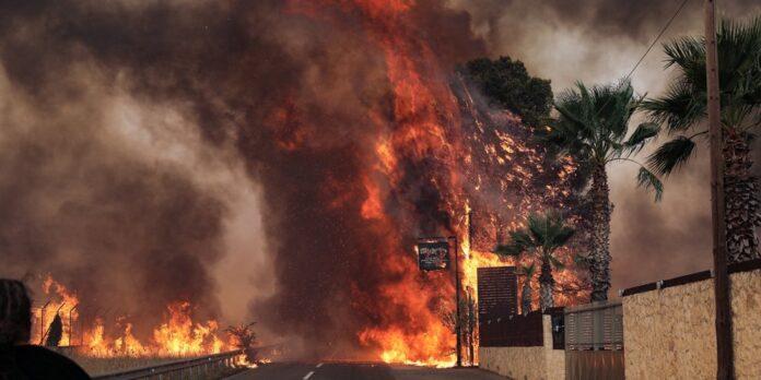 Κρανίου τόπος οι Αδάμες – Κάηκαν σπίτια (βίντεο)