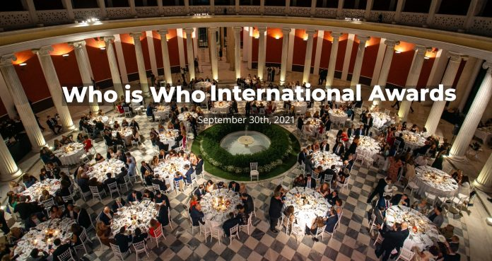 Who Is Who International Awards
