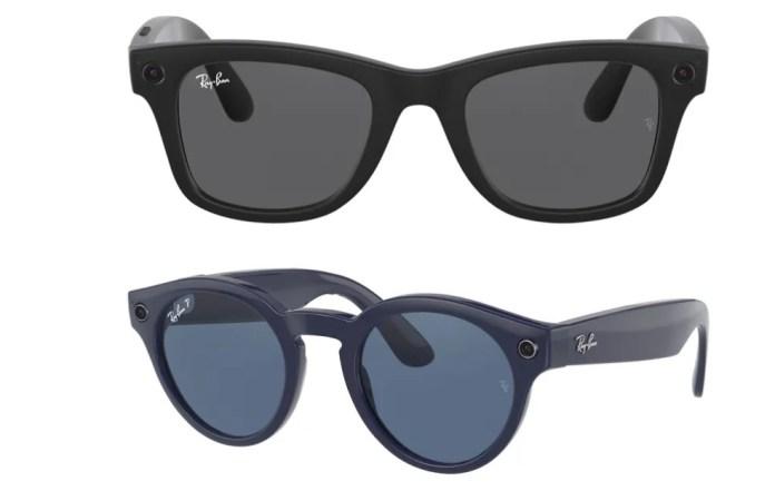 Τα έξυπνα γυαλιά του Facebook με τη Ray Ban εμφανίζονται Online