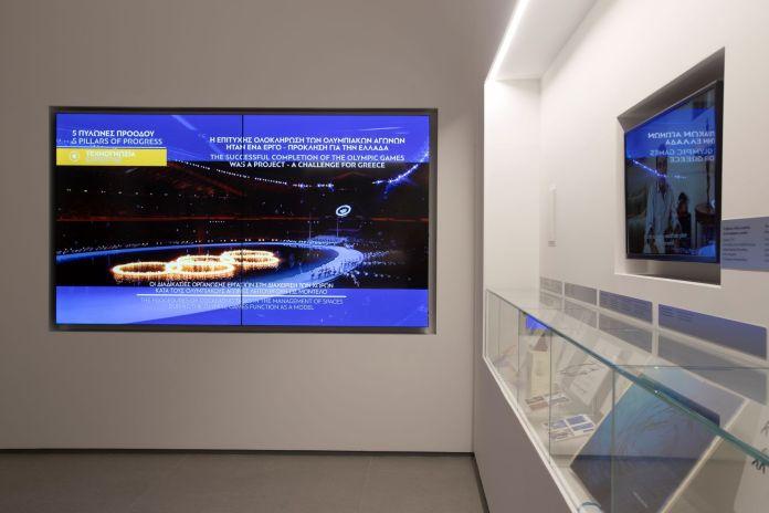LG: Digital Signage λύσεις στο Ολυμπιακό Μουσείο Αθήνας