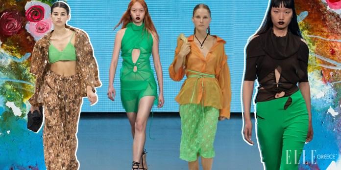London Fashion Week SS22: Ξέρουμε ποια απόχρωση του πράσινου θα είναι Hot την επόμενη άνοιξη