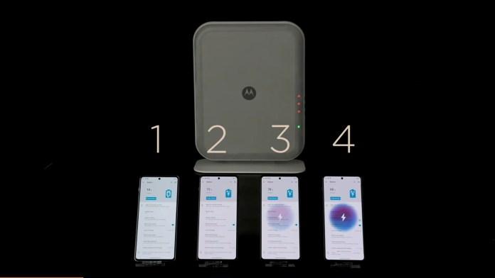 Motorola: Παρουσιάζει ασύρματη φόρτιση από τα 3 μέτρα