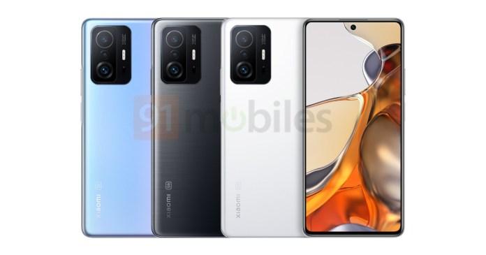 Xiaomi 11T Pro: Αφήνει πίσω του το Mi και εμφανίζεται σε Renders