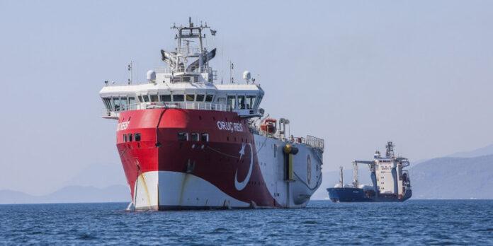 Δημιουργεί κλίμα η Τουρκία: Ξαναβγάζει το Oruc Reis στην Ανατολική Μεσόγειο