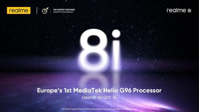 H Realme θα φέρει το μοντέλο 8i και στις ευρωπαϊκές αγορές