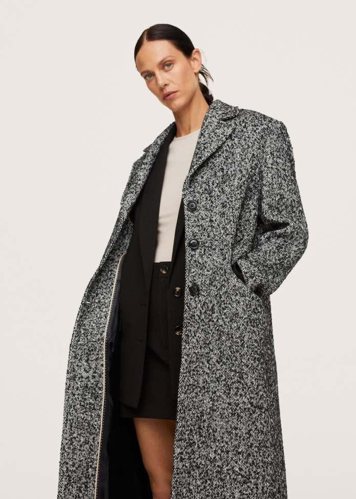 Παλτό ζασπέ μάλλινο - Μεσαίο πλάνο