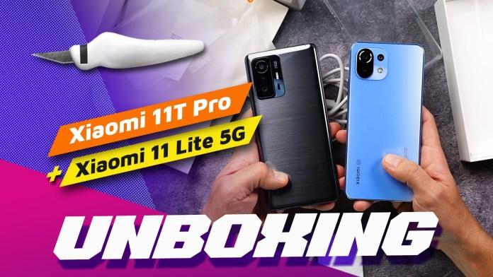 Xiaomi 11T Pro Unboxing και Bonus Unboxing 11 Lite 5G NE