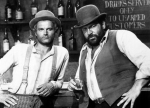 TRINITY IS STILL MY NAME!, (aka CONTINUAVANO A CHIMARLO TRINITA),  from left, Terence Hill, Bud Spencer, 1972