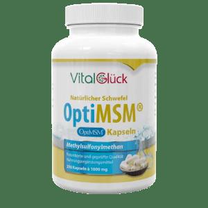 MSM Natürlicher organischer Schwefel Kapseln kaufen