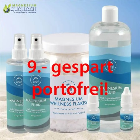 Magnesiumöl Zechstein Magnesium Fluid Set 4 online kaufen
