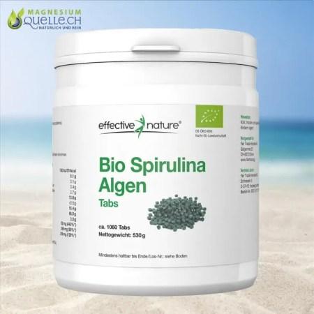 Spirulina Algen Tabs kaufen BIO