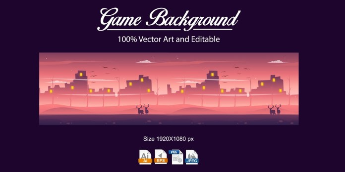Game Background Wildnis