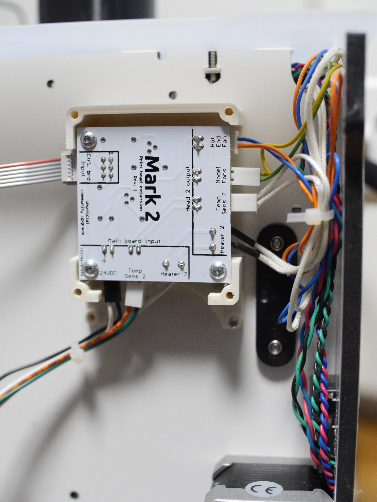 hight resolution of i cannot recommend strongly enough using a cable tie around the main board wires this will prevent the non locking 24 volt header from accidentally getting