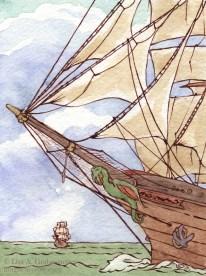 Dad's ship
