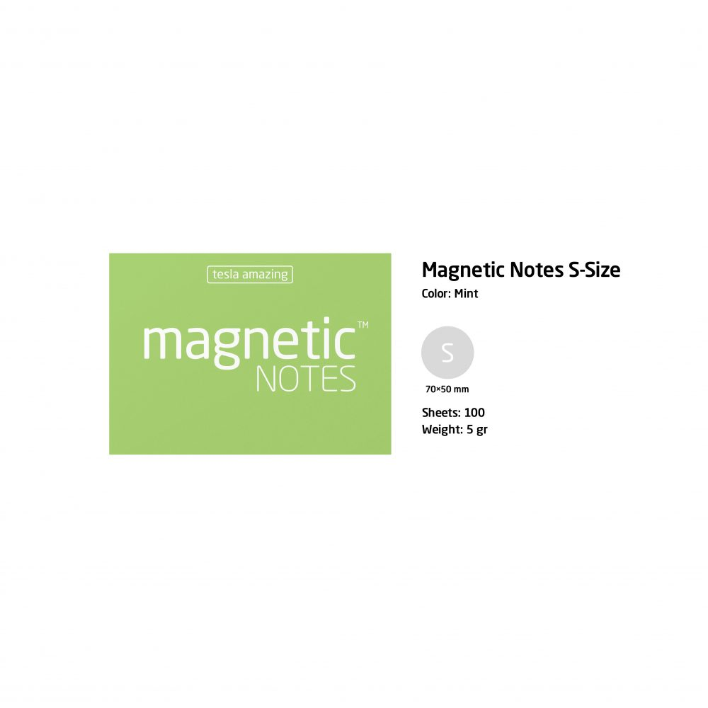 Magnetic notes kecil mint