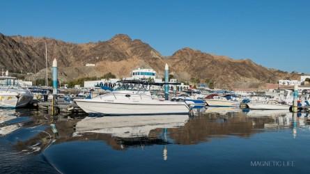 Muscat - port marina