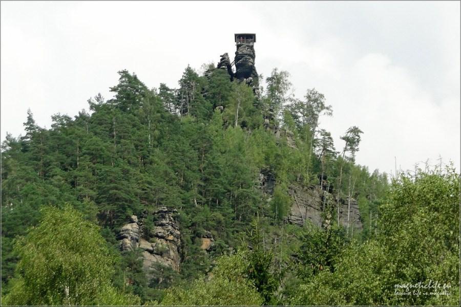 České Švýcarsko Wysoko było