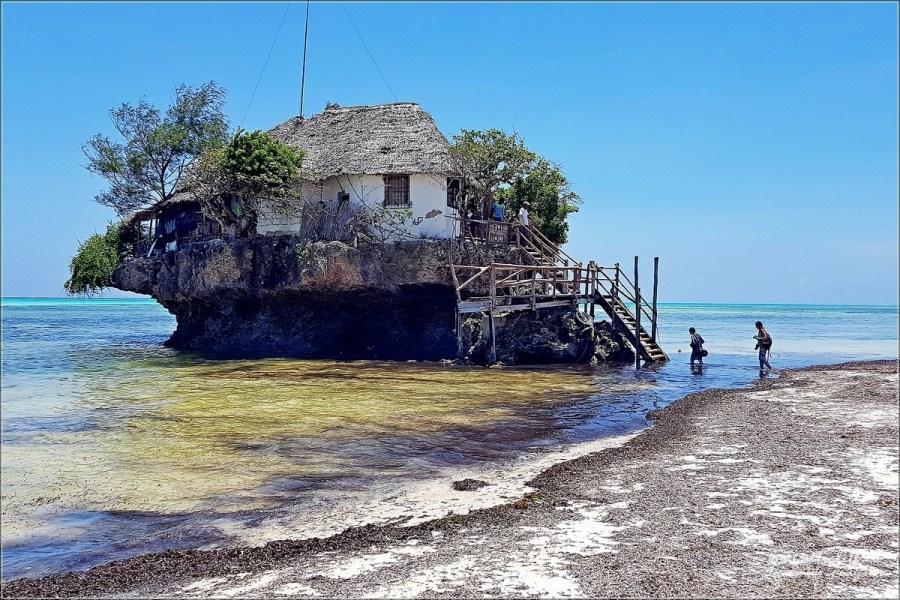 The Rock wschodnie wybrzeże Zanzibaru Restauracja