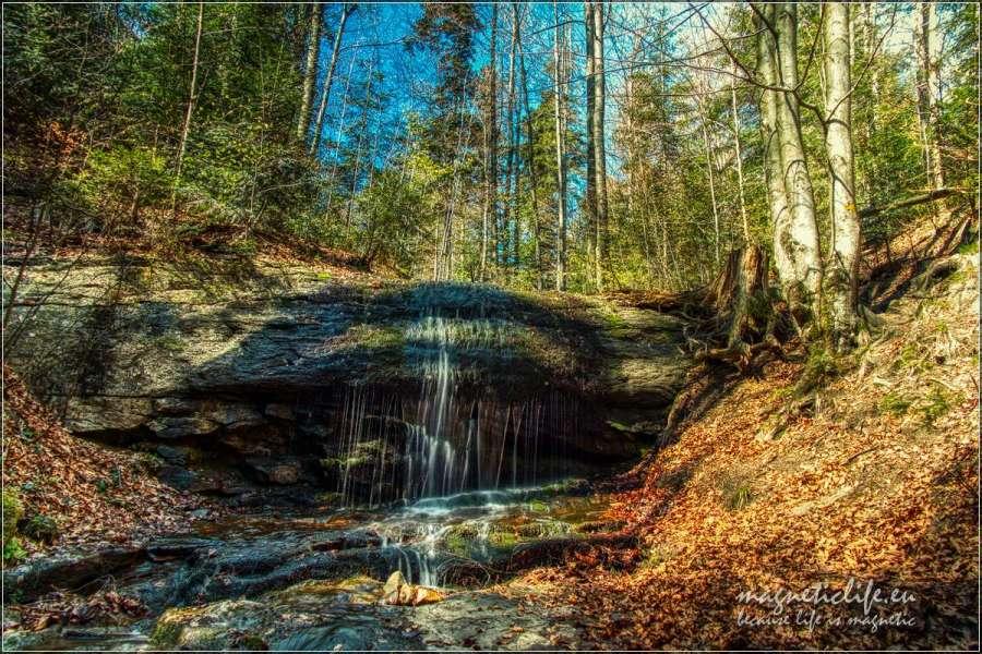 Wodospad Dusiołek