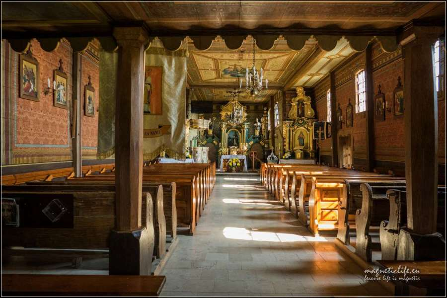 Kościół Tabaszowa wnętrze