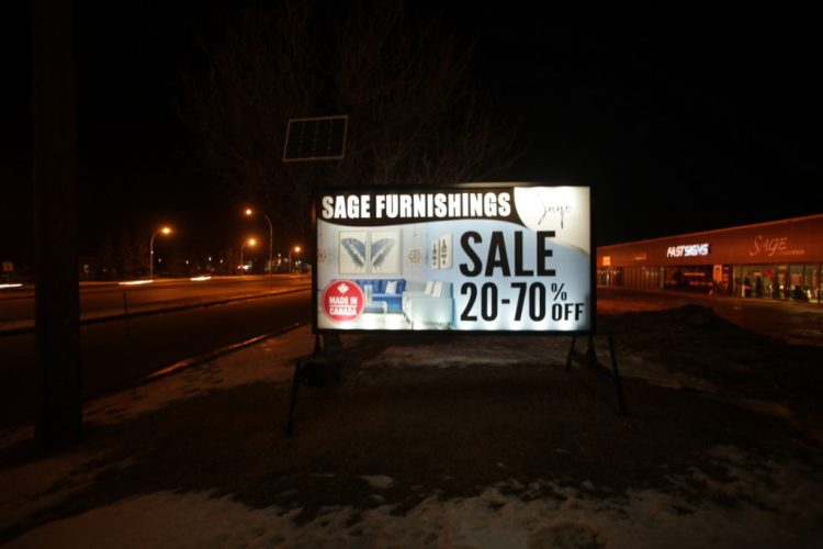 Stony Plain Magnetsigns