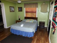 3-way House private lockable downstairs bedroom w/ private full bath.