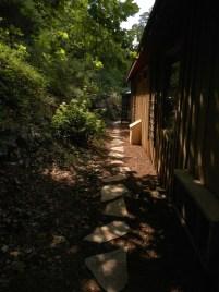 Dudeplex 2 - Private path to pool area