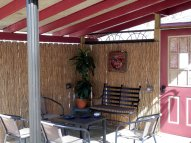 Small patio adjacent to Pool/Dudeplex 1