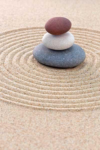 galets zen