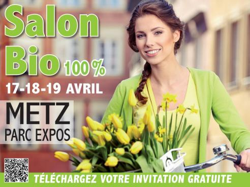 Salon bio  Metz du 17 au 19 avril 2015  Magntisme et Bientre