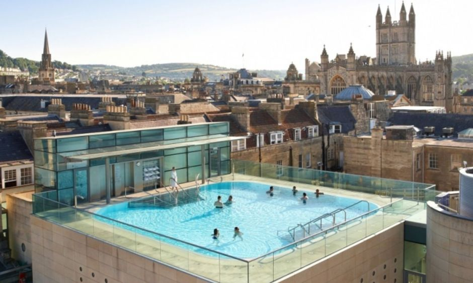 Bath Thermae Bath spa daytrip London students